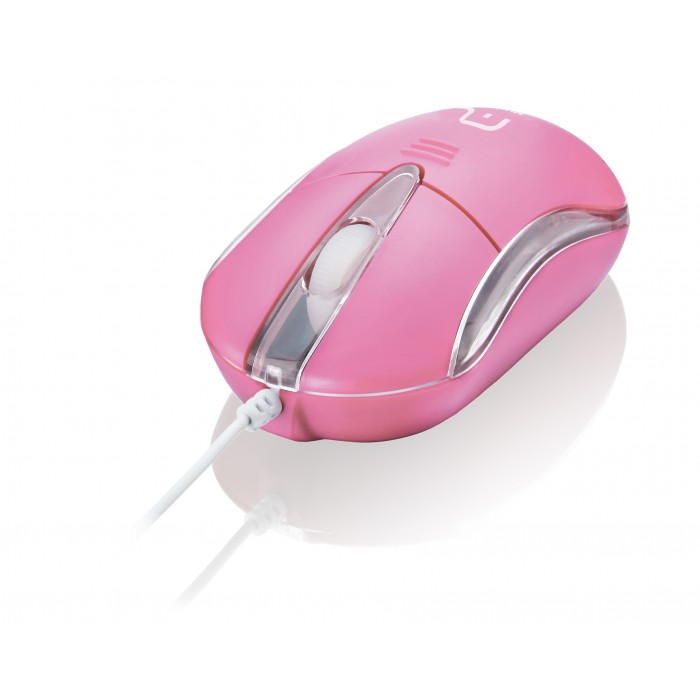 Mouse Multilaser Classic II Rosa MO170