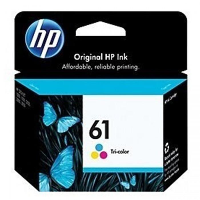 Cartucho de Tinta HP 61 Colorido Original CH562W