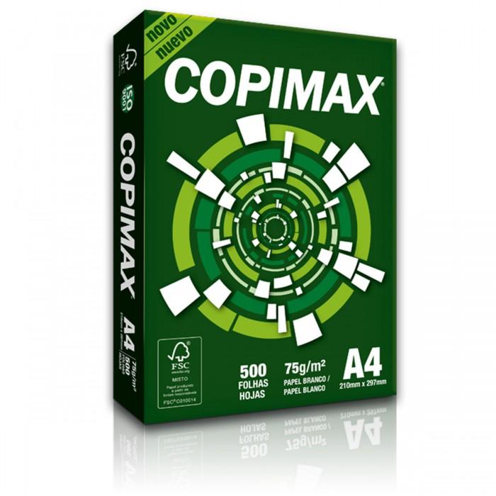 Papel Sulfite Copimax A4 Branco 75G Caixa com 5000 folhas