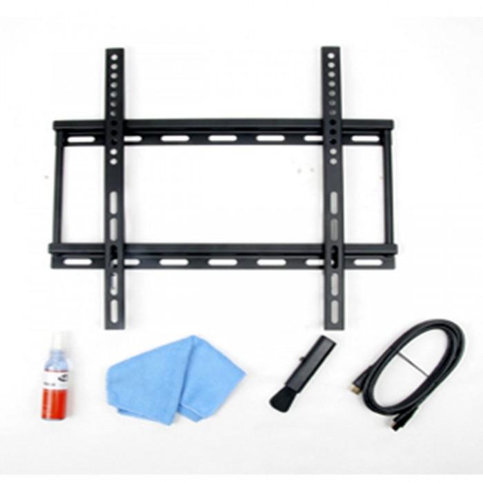 Suporte Loctek para TV de 26´ a 50´ LCD/Plasma/Led/3D AVK101-Fixo, Inclui limpa tela, cabo HDMI, escovinha e pano