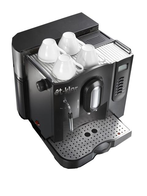 Máquina de Café Expresso T-Klar ME707 127V automática com moedor de grãos, painel digital