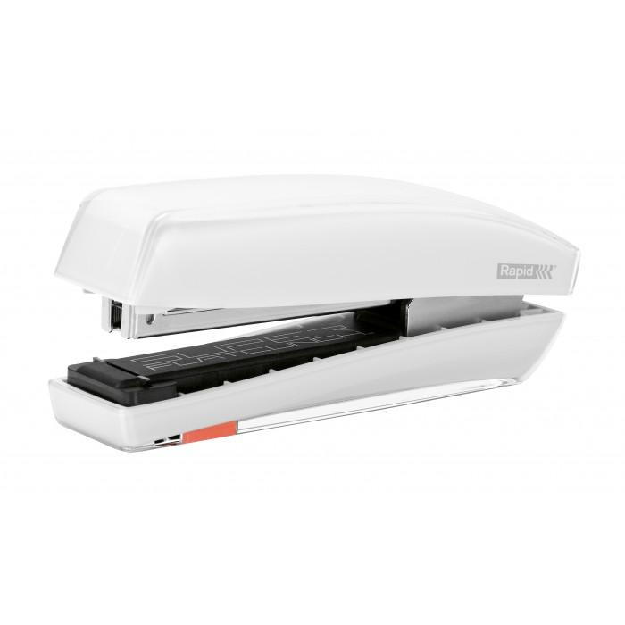 Grampeador Rapid Freeze - Cor: Branco, Grampeia até 30 folhas 60538