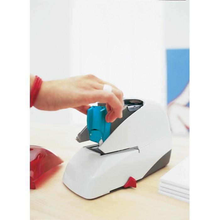 Grampeador Eletrônico Rapid 5050E - Grampeia até 50 folhas, Carregamento por cartucho, Bivolt 14880