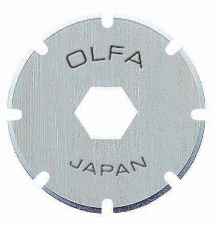 Estojo de Lâminas para Estilete Olfa PRB18-2 - 2 unidades 14895
