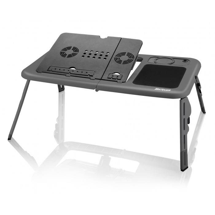 Mesa Portátil para Notebook Multilaser com Cooler AC127