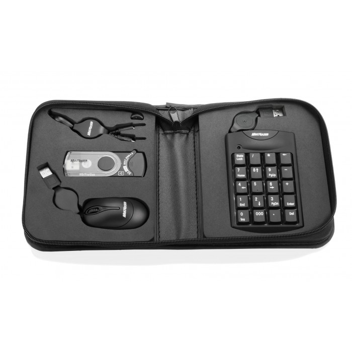 Kit Notebook Multilaser AC119 com Mini Mouse, Leitor de Cartões, Fone e Teclado Numérico