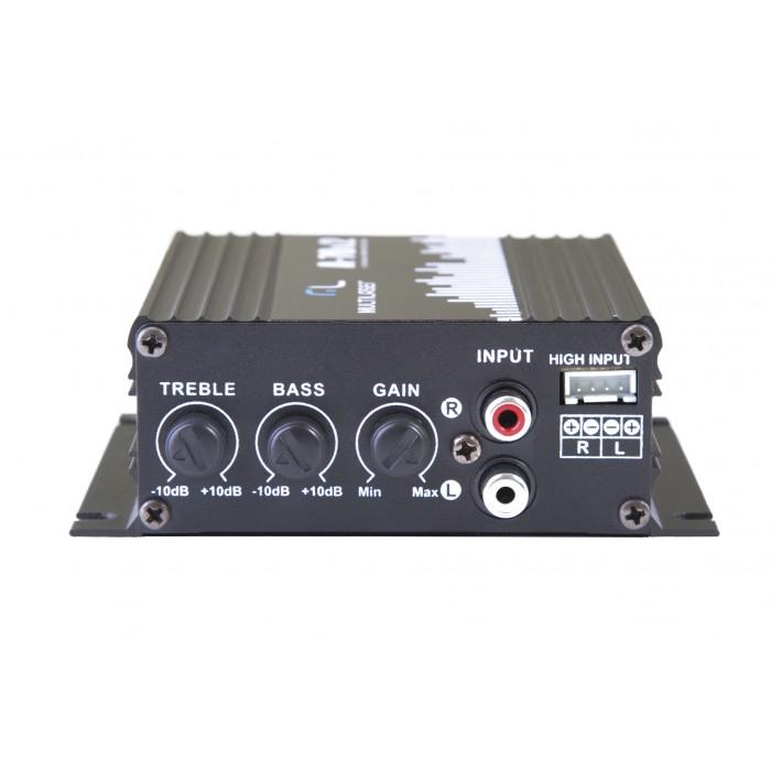 Amplificador Elétrico de Audiofrequência Multilaser AU902 (Cod.: 7334)