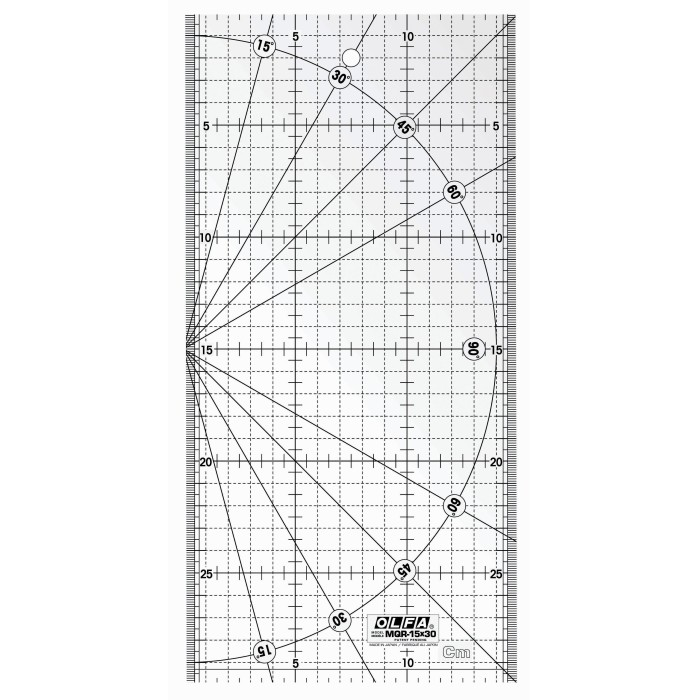 Régua de Quilt Olfa MQR-15X30