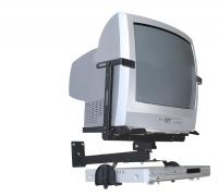 """Suporte Brasforma  Preto para TV CRT de 14´"""" a 21´"""" SBR1.2 (Incluso suporte para DVD)"""