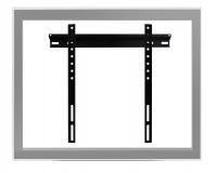 Suporte de parede fixo Brasforma para TV LCD, LED, PLASMA, 3D de 23´ a 55´ SBRP400