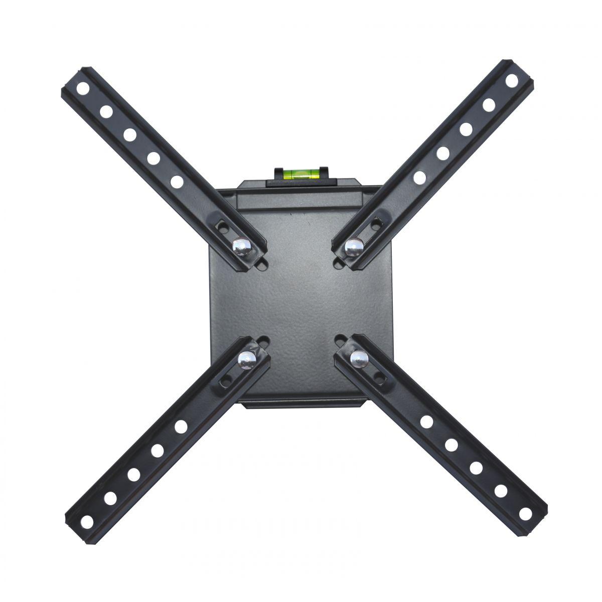 Suporte de parede Brasforma fixo ou inclinável para TV LCD, LED, PLASMA, 3D 10´ a 42´ - SBRLB110