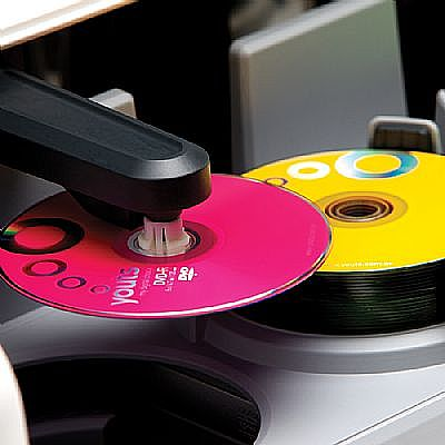 Replicador de disco Youts - DiscLoader DVD