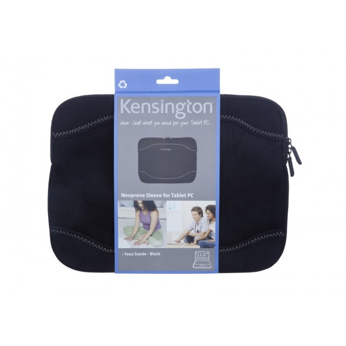 """Capa Protetora para Netbook 11"""" Kensington - Camurça Preta"""