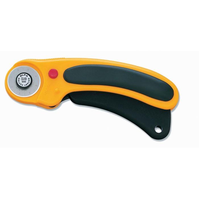 Cortador Rotativo RTY-1/DX Olfa - com lâmina de 28 mm
