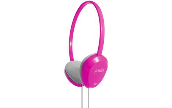 Headset Youts Slim Rosa