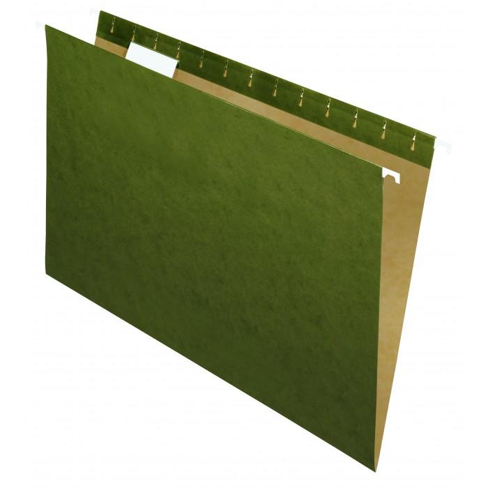 Pasta Suspensa Essential Kraft Esselte Verde pacote com 25 unidades cod:63346
