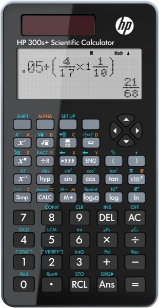 Calculadora Científica HP 300S+ Plus