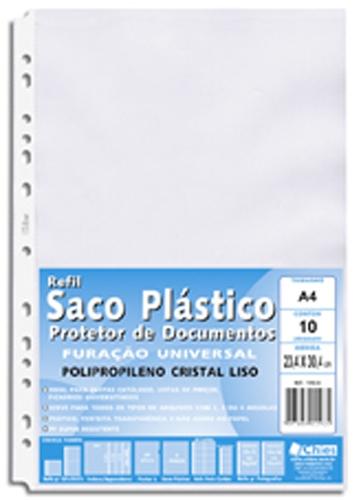 Protetor de Documentos Chies Furação Universal A4 - Cristal Gofrado -  Ref.: 1590-2