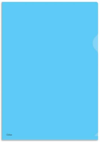 Pasta L Chies Standard Plus Ofício - Azul - Ref.: 1528-5