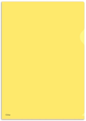 Pasta L Chies Standard Plus Ofício - Amarelo - Ref.: 2757-8