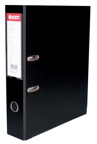 Registrador A-Z LL A4 Classic Chies Preta Tamanho: 28,5 x 31,5 x 7,3 cm - Ref.:1077-8