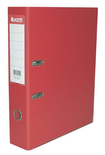 Registrador A-Z LL A4 Classic Chies Vermelho Tamanho: 28,5 x 31,5 x 7,3 cm - Ref.:1086-0