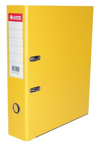 Registrador A-Z LL A4 Classic Chies Amarelo Tamanho: 28,5 x 31,5 x 7,3 cm - Ref.:1129-4