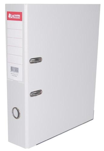 Registrador A-Z LL A4 Classic Chies Branco Tamanho: 28,5 x 31,5 x 7,3 cm - Ref.:1142-3