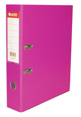 Registrador A-Z LL A4 Classic Chies Pink Tamanho: 28,5 x 31,5 x 7,3 cm - Ref.:2520-8