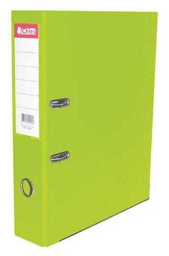 Registrador A-Z LL A4 Classic Chies Verde Cítrico Tamanho: 28,5 x 31,5 x 7,3 cm - Ref.:2521-5