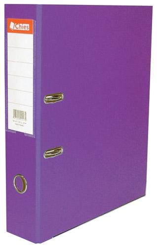 Registrador A-Z LL A4 Classic Chies Violeta Tamanho: 28,5 x 31,5 x 7,3 cm - Ref.:2785-1