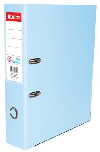 Registrador AZ LL A4 Chies Anti-Bact�ria Tamanho: 28,5 x 31,5 x 7,3 cm - Ref.: 2807-0