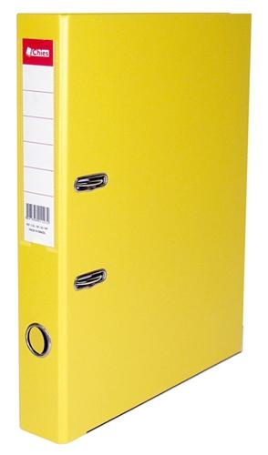 Registrador A-Z LE A4 Classic Chies Amarelo Tamanho: 28,5 x 31,5 x 5,3 cm - Ref.: 1135-5