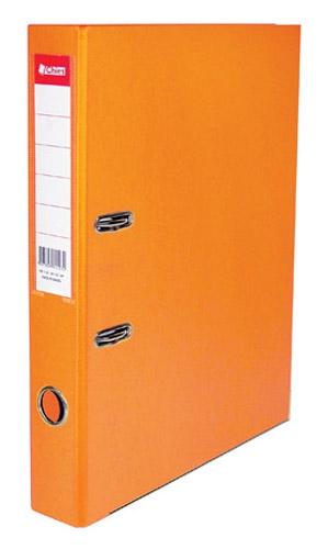 Registrador A-Z LE A4 Classic Chies Laranja Tamanho: 28,5 x 31,5 x 5,3 cm - Ref.: 2525-3