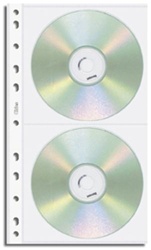 Refil Porta CDs Duplo Chies Fur.Universal Cristal Gofrado - Ref.: 1698-5