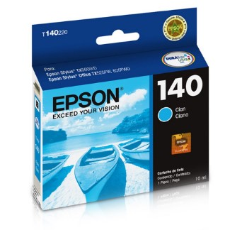 Cartucho de tinta Ciano T140220-AL Epson Durabrite Ultra p/ Stylus Office T42WD / TX525FW / TX560WD / TX620WD Original