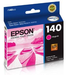 Cartucho de tinta Magenta T140320-AL Epson Durabrite Ultra p/ Stylus Office T42WD / TX525FW / TX560WD / TX620WD Original