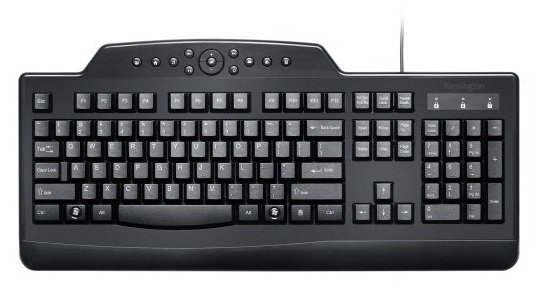 Teclado Multimídia Kensington USB - Pro Fit®