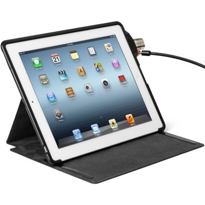 Capa Kensington Protetora e Base com Trava para iPad - SecureBack™