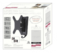 "Suporte Brasforma SBRP126 - para TV LCD|LED|PLASMA|3D 13"" at� 27"", Cor: Preto"