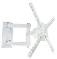 Suporte de parede Brasforma SBRP140 Branco para TV LCD LED Plasma 3D 10 a 55 polegadas