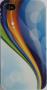 Capa de IPhone 4 de Policarbonato Texturizado Em Linhas Coloridas BB-WAVE Acompanha Película Protetora Aplicador de Película Flanela para Limpeza