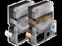 Cartucho de Fita LC-5WBQ5 p/ Rotuladora Eletr�nica Epson - 18mm LW400 Preto no Branco - Tecido