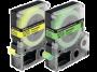 Cartucho de Fita LC-5YBF9 p/ Rotuladora Eletrônica Epson - 18mm LW400 Preto no Amarelo Fosforescente