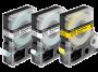 Cartucho de Fita LC-5YBW9 p/ Rotuladora Eletr�nica Epson - 18mm LW400 Preto no Amarelo
