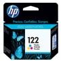 Cartucho de Tinta HP 122 Colorido Original CH562HL - p/ HP Deskjet 1000, 1050, 1055, 2000, 2050, 3000, 3050, 3050A