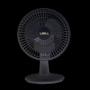Ventilador Libell Slim Preto - 15cm, 2 velocidades, 220V