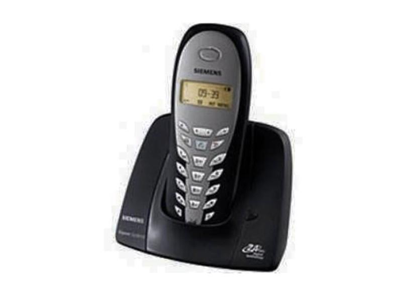 (FORA DE LINHA) Telefone sem fio Siemens CL5010