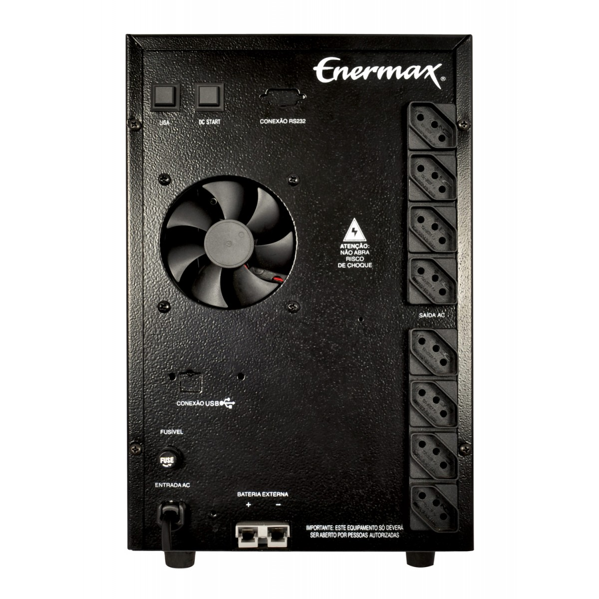 Nobreak Power Max Enermax 1000VA Plus Entrada 115V
