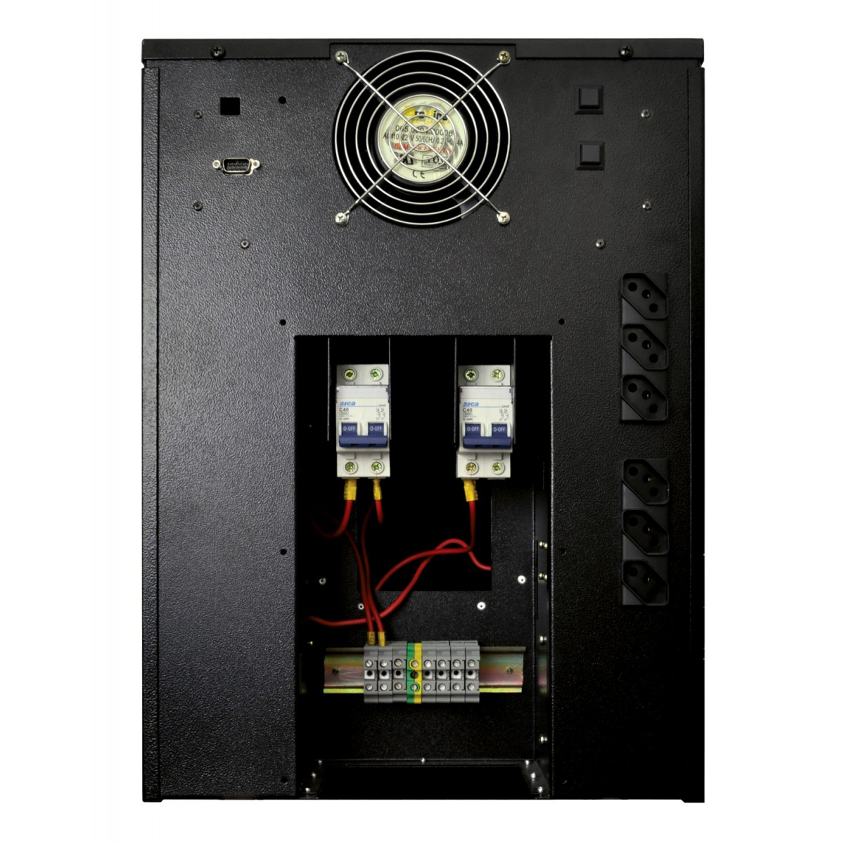 Nobreak Power Max Enermax 6000VA Entrada 115V